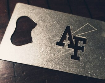 Air Force Academy Credit Card Bottle Opener