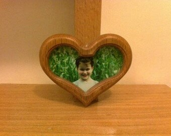 wood frame for a photo.