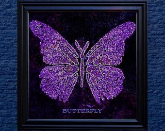 Butterflies of Light - Five 8x8 HD Digital Prints