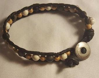 Handmade Trish Ann wrap bracelet