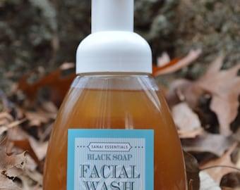 Black Soap Facial Wash
