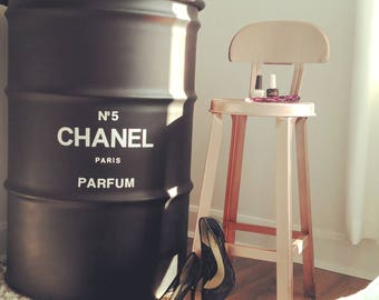 Perfume CHANEL No. 5 metal barrel
