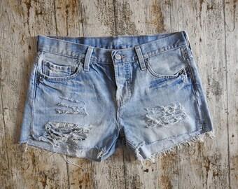 90s Levis Reworked 501 Denim Shorts