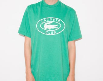 Lacoste, Vintage Lacoste, Athletic, Sports, Sporty, Lacoste Shirt, 90s Vintage, Sportswear, 90s Tshirt, 90s Shirt, 90s T-shirt, Lacoste Club