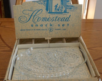 Homstead Federal Snack Set