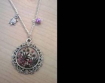 Pendant cabochon 20mm cabochon necklace