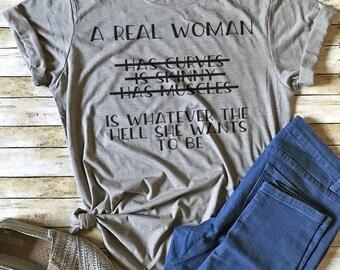 Camiseta feminista, camiseta feminista, derechos de las mujeres, camiseta mujer, camiseta feministas hombres, mujeres reales, camiseta divertida, moda camiseta, feminista