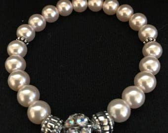 Simple Eloquence Beaded Bracelet