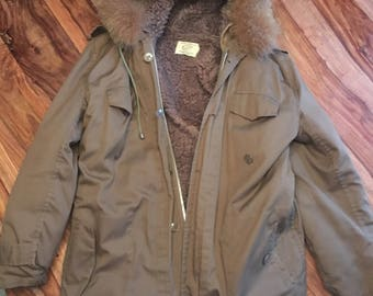 Parka made in France style militaire