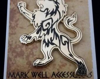 Nemean Lion Pin - Labors of Hercules mythical creature lapel hat pin