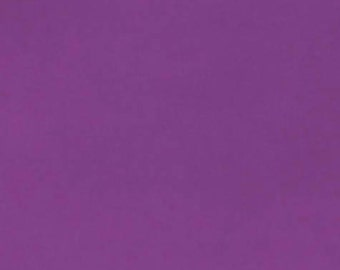 Purple Cotton Fabric, Lilac Fabric, Purple Fabric by the Yard, Plain Cotton, Fabric by the Half Yard, Quilting Fabric, Apparel Fabric