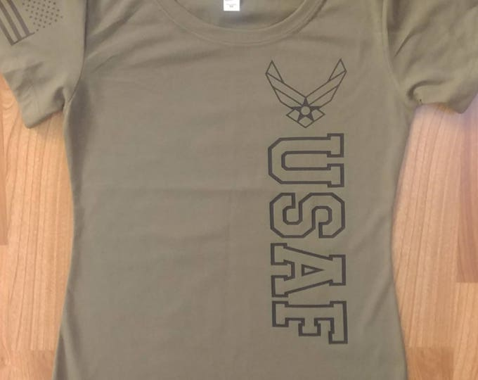 Air Force - Air Force Women's Shirt - Air National Guard - Air Force Veteran - Air Force Wife - USAF Shirt