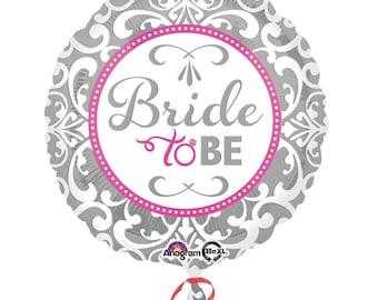 Hen Party,Elegant Bride To Be  Standard Foil Balloon