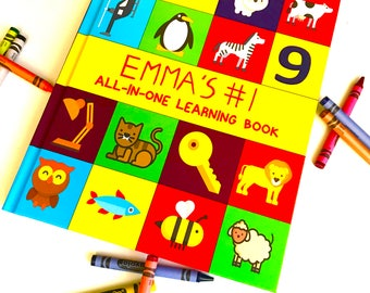 The Best All-In-One Learning Book For Toddlers.