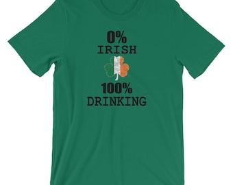 Funny St Patrick's Day Shirt Drinking T-Shirt
