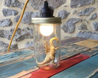 Le Parfait jar lamp