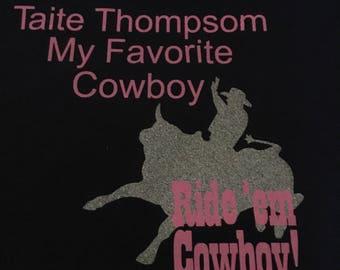 Rodeo Fan, Cowboy, Birthday,