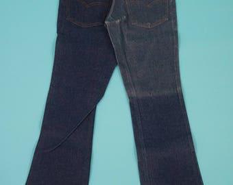 Vintage 80s Levi's 517 Saddleman Jeans 28x31 - Deadstock