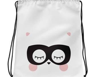 nordic bag, scandi bag, animal maked, animal bag, playroom bag, library bag, kids bag