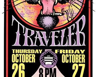 POSTER Blues Traveler Concert Art by Mark Arminski Signed