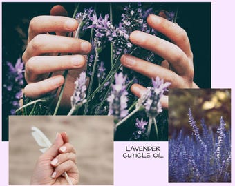 Moisturizing Lavender Cuticle Oil