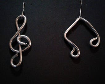 Music Notes Earings