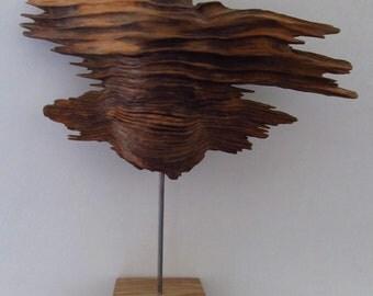 unusual natural wood sculpture - stormwood