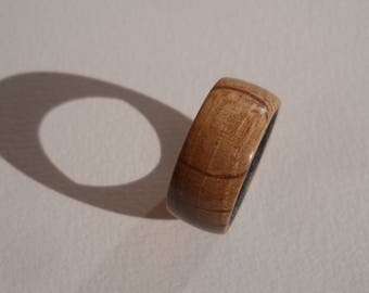 Ring made of oak size 57