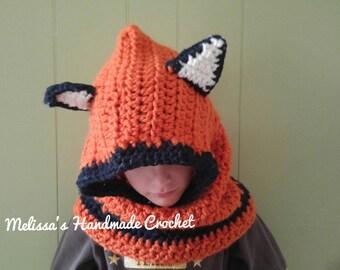 Fox Hood   Foxy Cowl