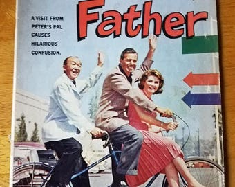 April-June 1962 BACHELOR FATHER, No. 1332 Four Color