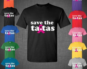 Save The TATAS Ladies Shirt Cancer Survivor Mothers Day