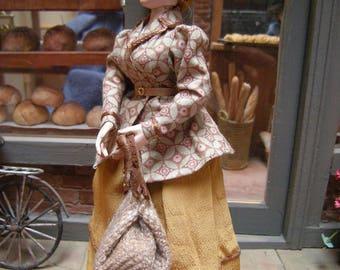 turn of century doll