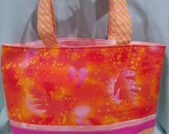 Tuscany-style tote bag