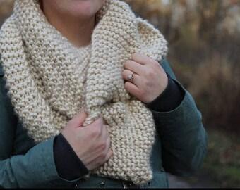 XL Knit Infinity Scarf