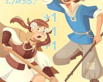 """Fire Emblem: Villager 8.5""""x 11"""" Poster"""