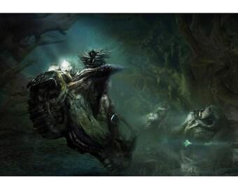 Pagan Rhinos Limited edition print