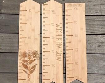 Bamboo Custom Height Chart