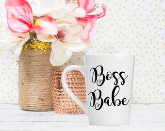 Boss Babe Coffee Mug - Boss Appreciation - Coworker Gift - Boss Gifts for Women - Motivational Mug - Boss Mug - Boss Gift - Sales Team Gift