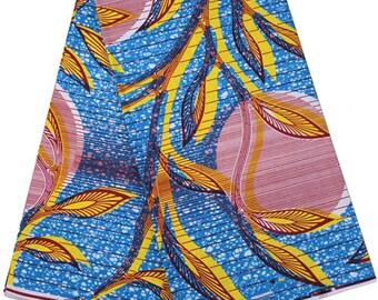ADEED - The Leaf & Circle Print | Material, Fabric, Ankara, Sewing, Tribal Fabric, Nigerian Fashion, Hollandais, Sewing, Dutch Wax, Leaf