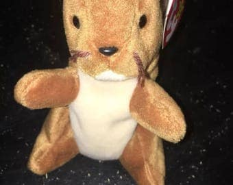 "Very Rare 1996 ""Nuts"" Beanie Baby With Many Errors Including PVC Pellets!"