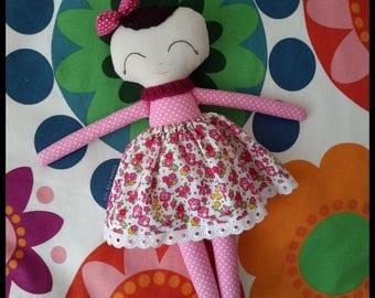 Handmade cloth doll / Handmade fabric doll / Handmade doll / fabric doll / sleeping friend / sleeping doll/ Tilda doll /doll / toys