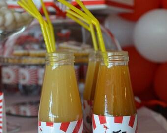 Sticker custom Vespa theme for fruit juice