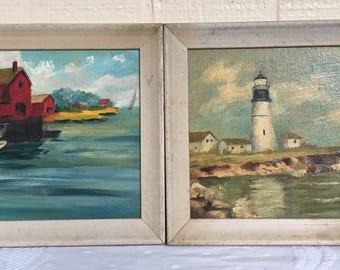 Vintage Bangor, Maine Paintings