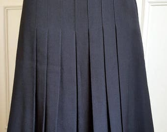 Pleated skirt 80's