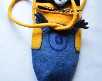 """Bag handmade  """"Minion"""""""