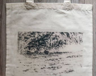 """Reusable Library Bag with """"Cottontail"""""""