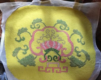 Needlepoint Seat Covers