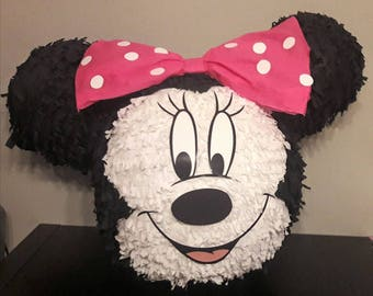 Choose your Minnie pinata for your Party 55cm
