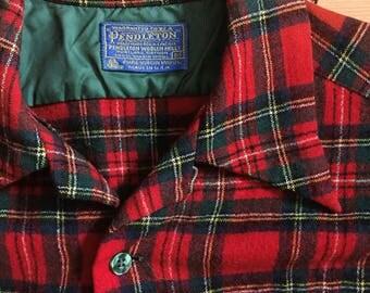 1960's Vintage Pendleton Wool Shirt