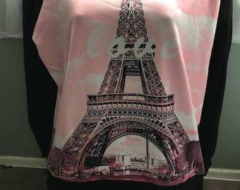 Eiffel Tower Paris  fashion sweatshirt